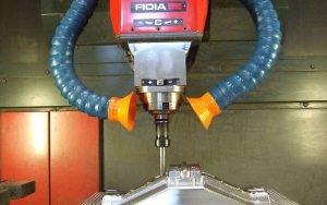 Lock Line zum lokalisierten Abzug an CNC Drehmaschinen
