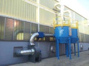 ATEX-Aktivkohlefilter für Trockenlackierung