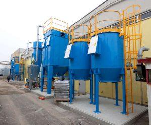ATEX Aktivkohlefilter für den Chemiebereich