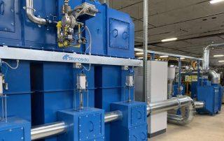 Anwendung 1 Regenerative thermische Abluftreinigung und Vorfiltrationssystem