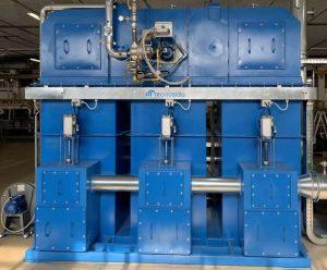 Regenerative thermische Abluftreinigung zur VOC-Behandlung aus dem Beschichtungsbetrieb