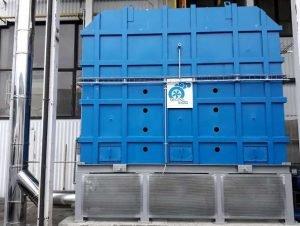 Thermische Abluftreinigung mit Schutzsystem