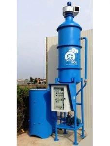 Rauchreiniger Biomasseverbrennung