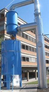 Befeuchter zur Eindämmung von Verbrennungsabgasen