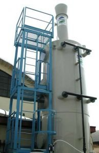 Anwendung 4: Scrubber zur Gummi-Vulkanisierung