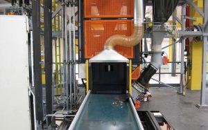 Anwendung 2: Detail der Abzugshaube an der Maschine