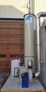 Anwendung 3: PP-Scrubber für Natriumdämpfe