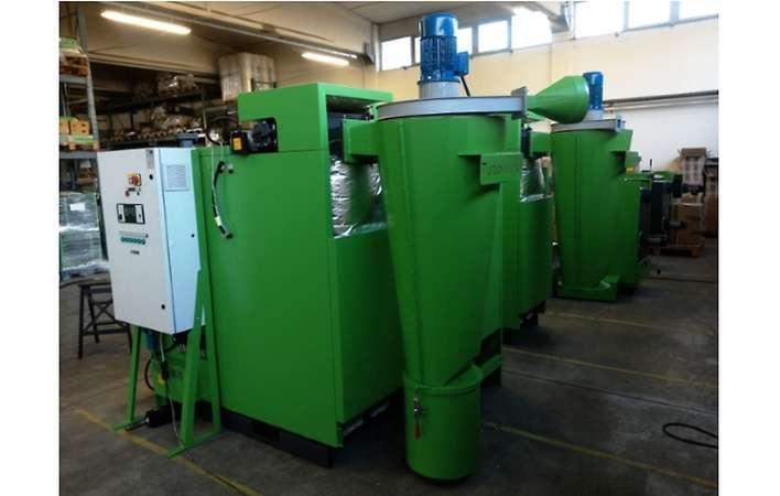 Tangential-Abscheider Turbovortex für Biomassekessel