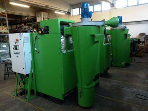 Turbovortex Multizyklon für Kessel mit fester Biomasse