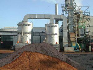 Waschtürme für Ölherstellung zur Bekämpfung der vom Trester ausgehenden Gerüche