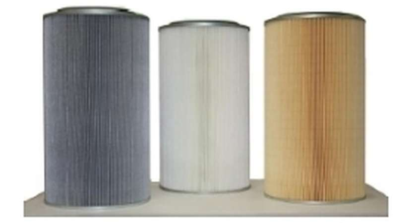 Kartuschen zum Filtern von Stäuben