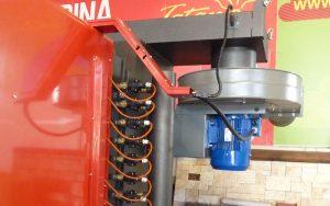 Multizyklon-Ventilatorgruppe dimensioniert für die Kesselzertifizierung EN-303