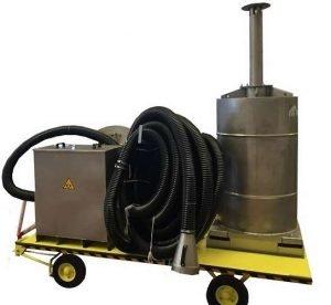 Fahrbarer ATEX-Aktivkohlefilter