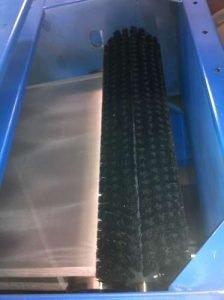 Waschvorrichtung für Abgase aus der Holzverbrennung