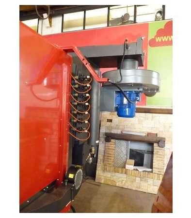Turbovortex für Biomasse-Kessel