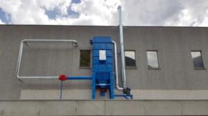 ATEX-Beutelfilter zur Beseitigung von Kohlenstaub